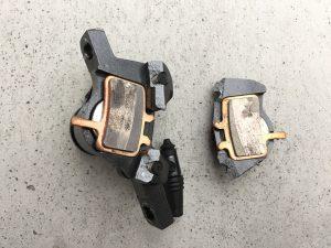 ディスクブレーキキャリパー(SRAM Avid BB7)を折る